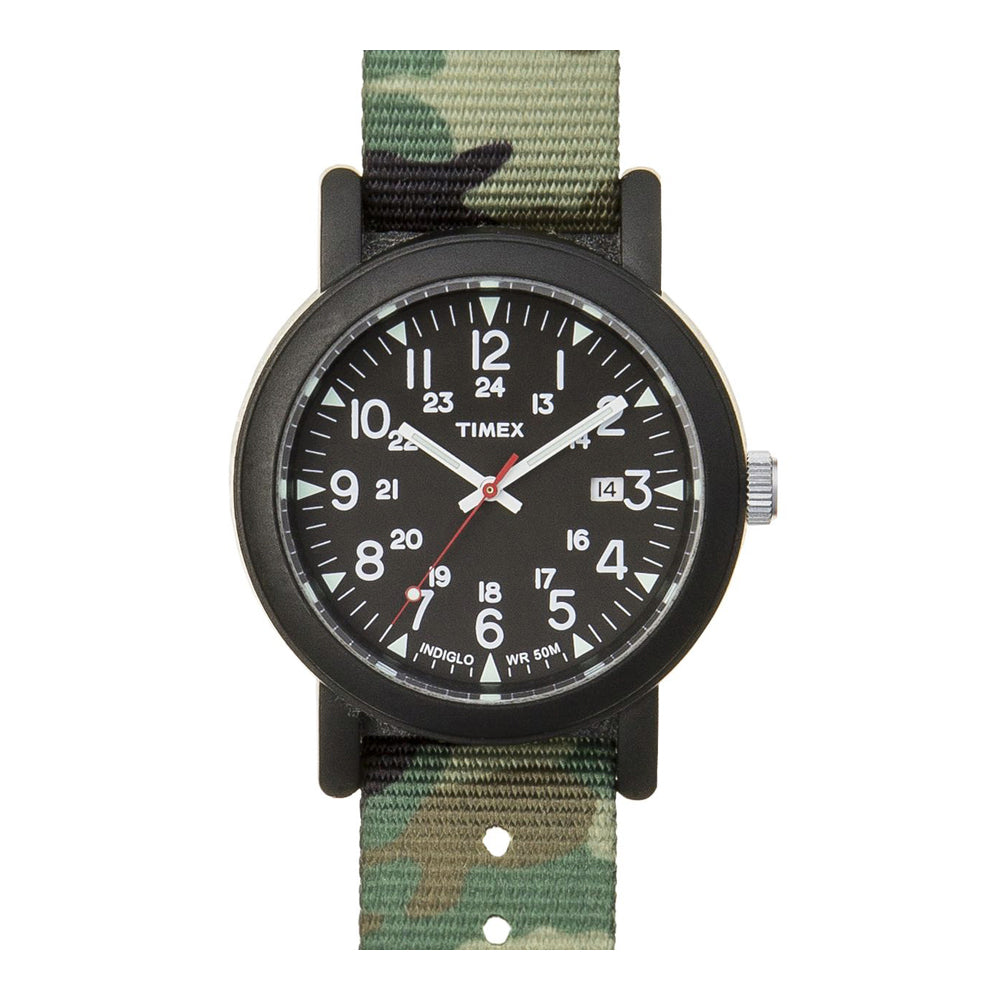 Timex Camper Green Black ABT503 Herrenuhr