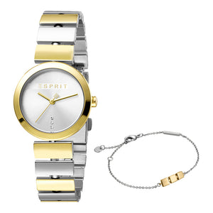 Esprit ES1L079M0045 Bay Two Tone Gold Silver Damenuhr