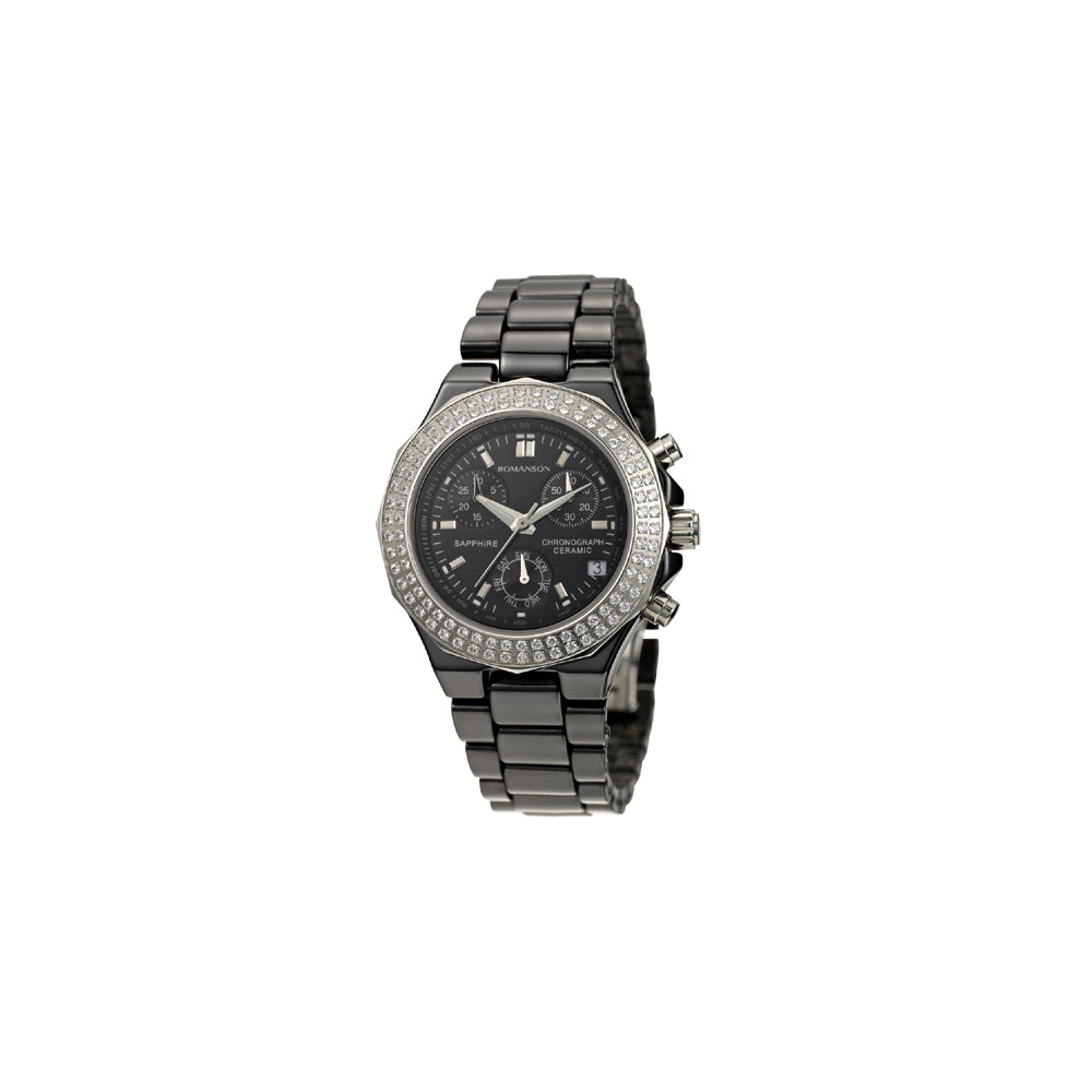 Romanson Sports TM1231QM1BA32W Damenuhr Chronograph