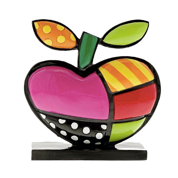 """SNOW WHITE APPLE ICON"" BY BRITTO"