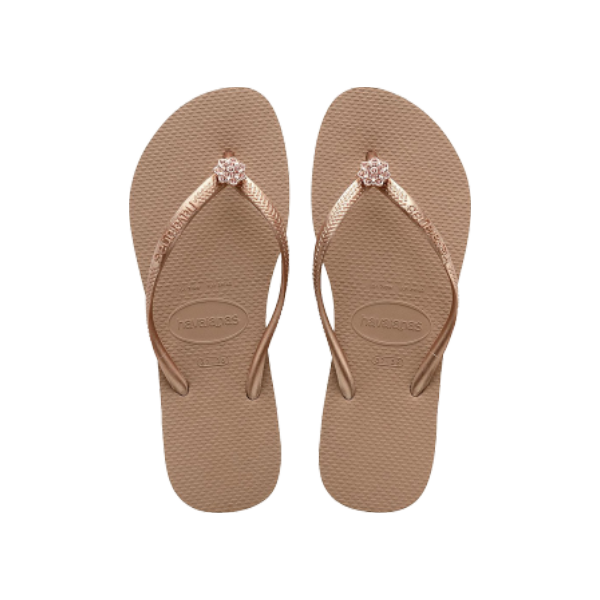 HAVAIANAS - TONG - CRYSTAL POEM - ROSE GOLD