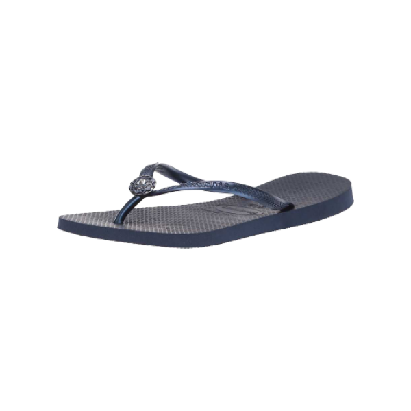 HAVAIANAS - TONG - SLIM CRYSTAL POEM - NAVY BLUE