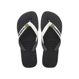 HAVAIANAS - TONG - BRASIL MIX - STEEL GREY WHITE