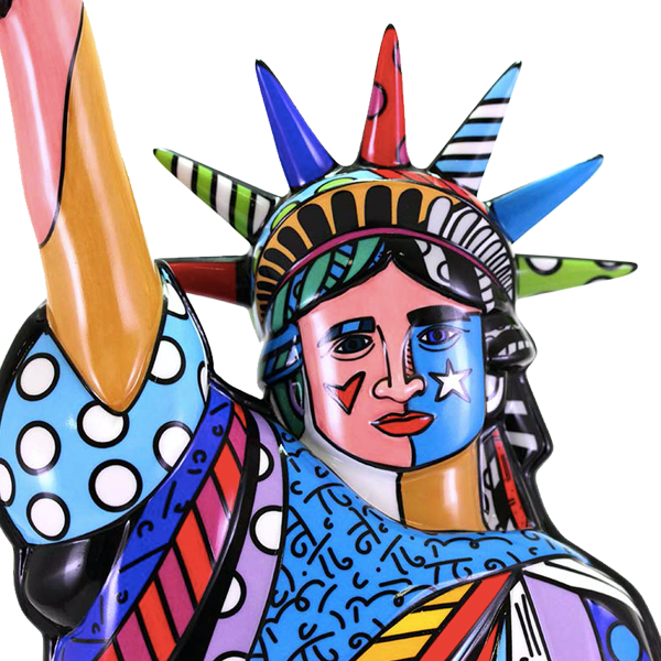 """STATUE OF LIBERTY"" BY BRITTO"