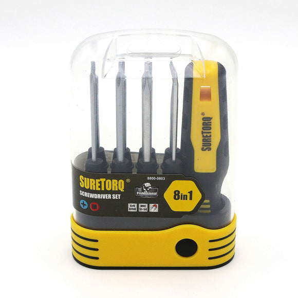 8-IN-1 Screwdriver Set