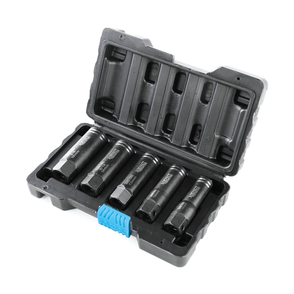 5pcs Impact Deep Well Damaged Nut/Bolt Extractor Set