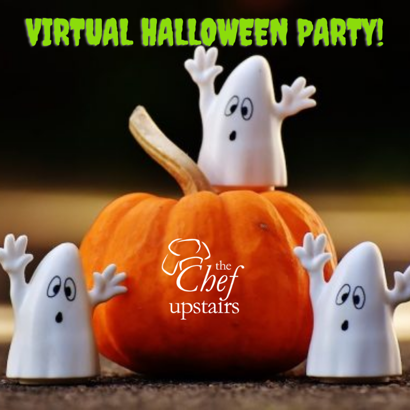 Virtual - Family Cooking Class - Halloween Party at 10 a.m.