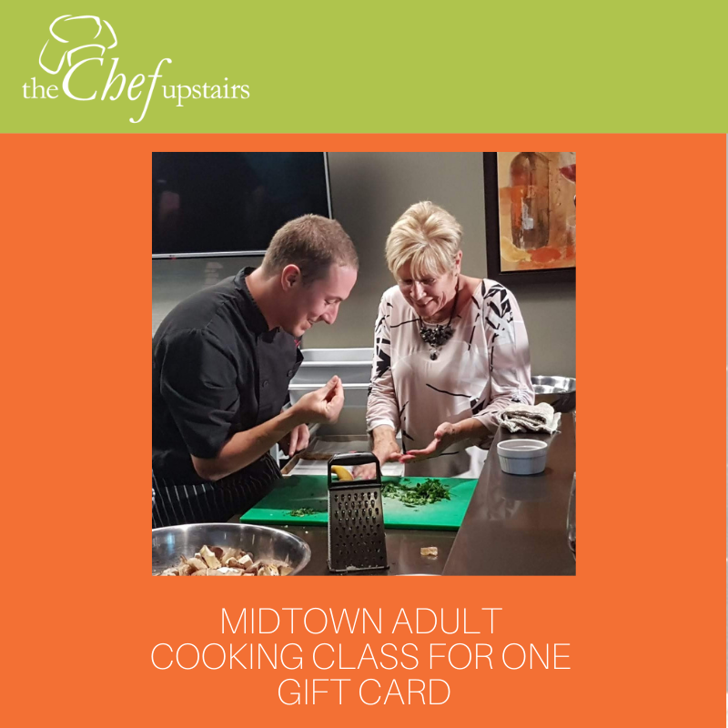 Midtown Adult Cooking Class for One Gift Card