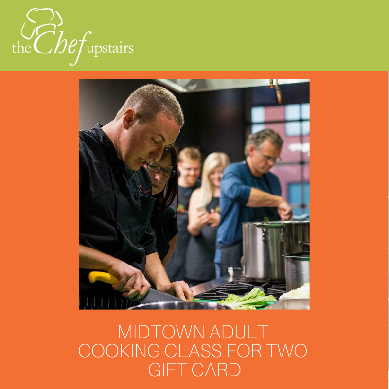 Midtown Adult Cooking Class for Two Gift Card