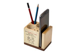 IVEI Sibling Pen Stand Cube with Mobile Holder - Rakhi gifts for brother and sister