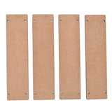 IVEI DIY MDF hangings-  Set of 4 with two holes