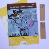 The Elephant and the Sparrow - Workbooks and 2 DIY Bookmarks- 4 to 7 Yrs