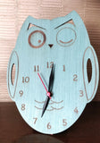 IVEI Green Owl Table Clock -Desk Clock