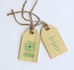 IVEI Wooden Luggage Tags (Set of 2)