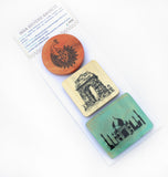 IVEI India Souvenir Magnets - Set of 3