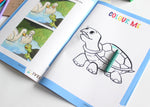 The Tortoise and the Geese - Workbook and a DIY Puzzle - 4 to7 yrs