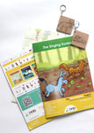 The Singing Donkey - Workbook and 2 DIY Keychains - 4 to 7 yrs