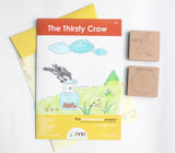 The Thirsty Crow - Workbook and 2 DIY Magnets - 4 to 7 yrs
