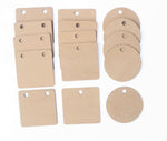 IVEI DIY MDF Pendants - Set of 15 - 3 mm