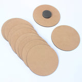 IVEI DIY MDF Round Magnets -Set of 10 - 3 in diameter