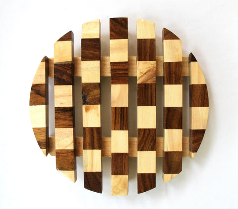 IVEI Wooden Trivet - Serving platters