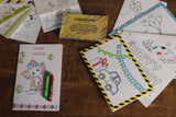DIY Kids Greetings Cards and Tags Set