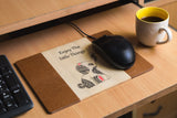 IVEI Wooden Elephant  Mousepad