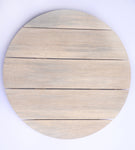 Wooden Circular Name Board Media