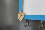 IVEI Wooden Fridge Magnets with Whiteboard and Hooks - Slippers