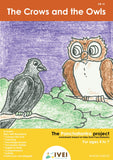 The Crows and the Owls - Workbook and 2 DIY magnets - 4 to 7 yrs