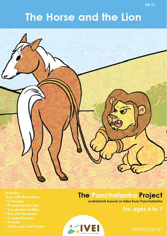 The Horse and the Lion - Workbooks and 1 DIY Puzzle  - 4 to 7 Yrs