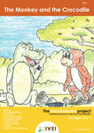 The Monkey and the Crocodile - workbook and 2 DIY Magnets - 4 to 7 yrs