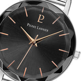 Pierre Lannier Multiples Silver Anthracite/Silver Mesh 009M688