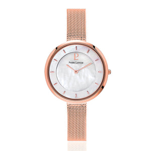 Pierre Lannier Liberty Pearl/Rose Gold Mesh 076G998