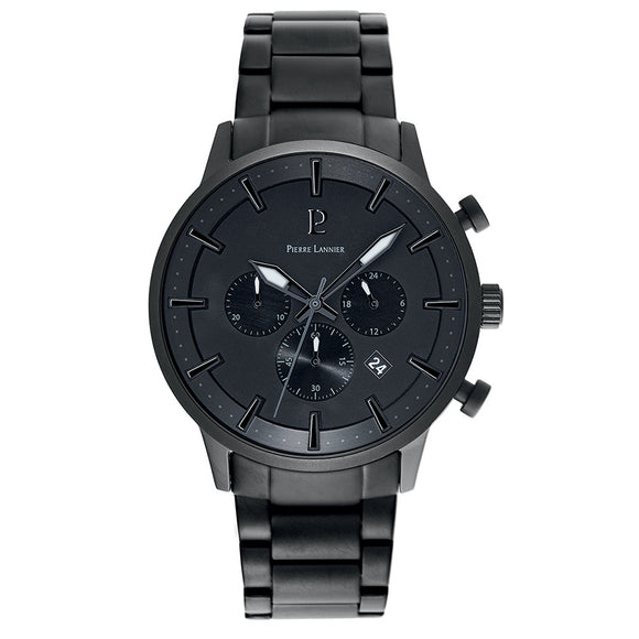 Pierre Lannier Absolue Chronograph Full Black 206H439