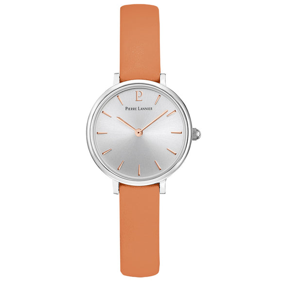 Pierre Lannier Nova Rose Silver Apricot Leather 013N629