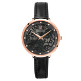 Eolia Rose Gold Black/Black Leather 039L933