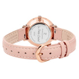 La Petite Cristal Rose Gold Pink Gradient Swarovski Dial/Pink Leather 108G955