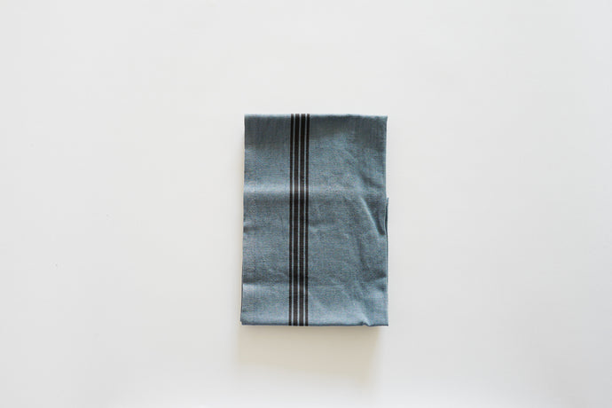 Piano Teal Towel, Bleu