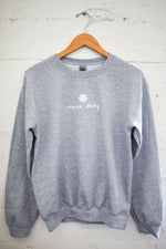 Heather Grey Oopsie Daisy Sweatshirt