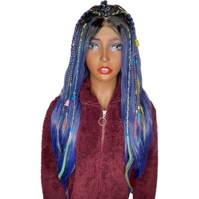 LIT UNICORNS - Branded Wig - #BRANDED 👽   SOUR GUMMY