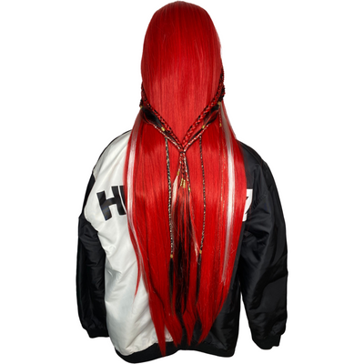 LIT UNICORNS - Branded Wig - RED LIP$