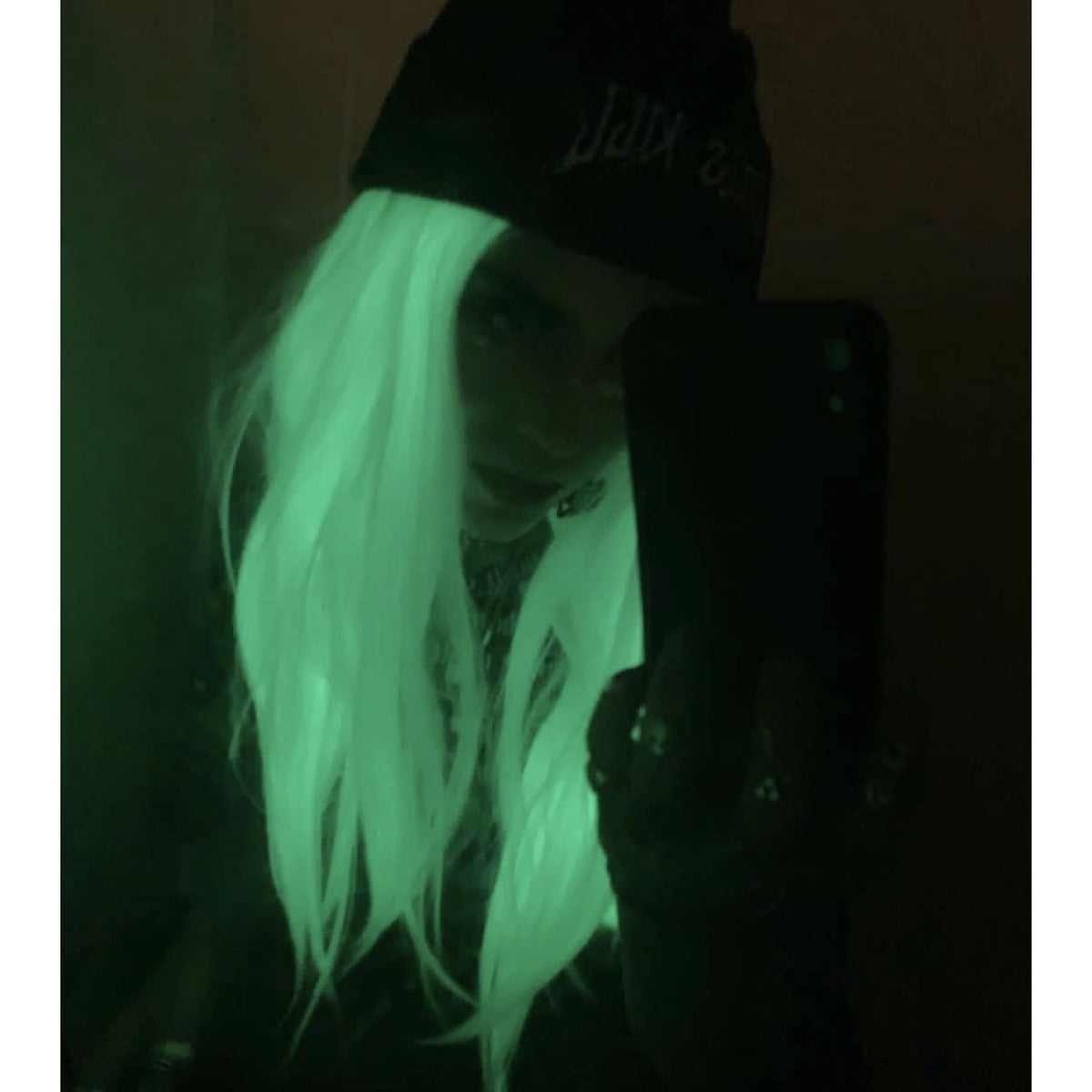 LIT UNICORNS - Discounted Wigs - WHITE GLOW DOWN