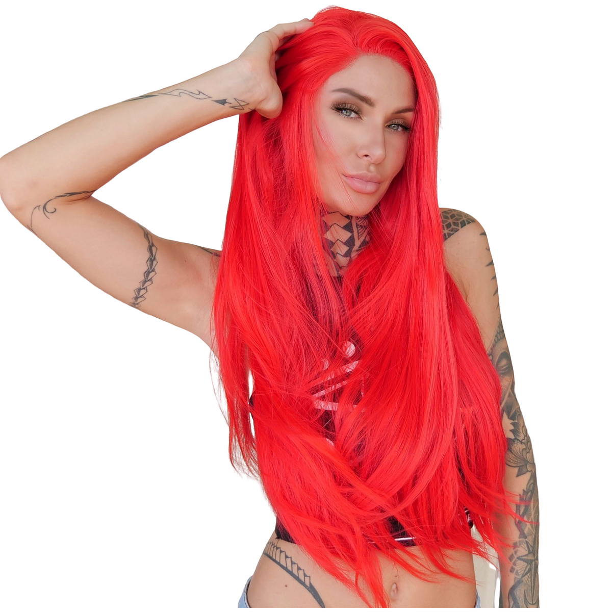 LIT UNICORNS - Discounted Wigs - RED $LUT 2