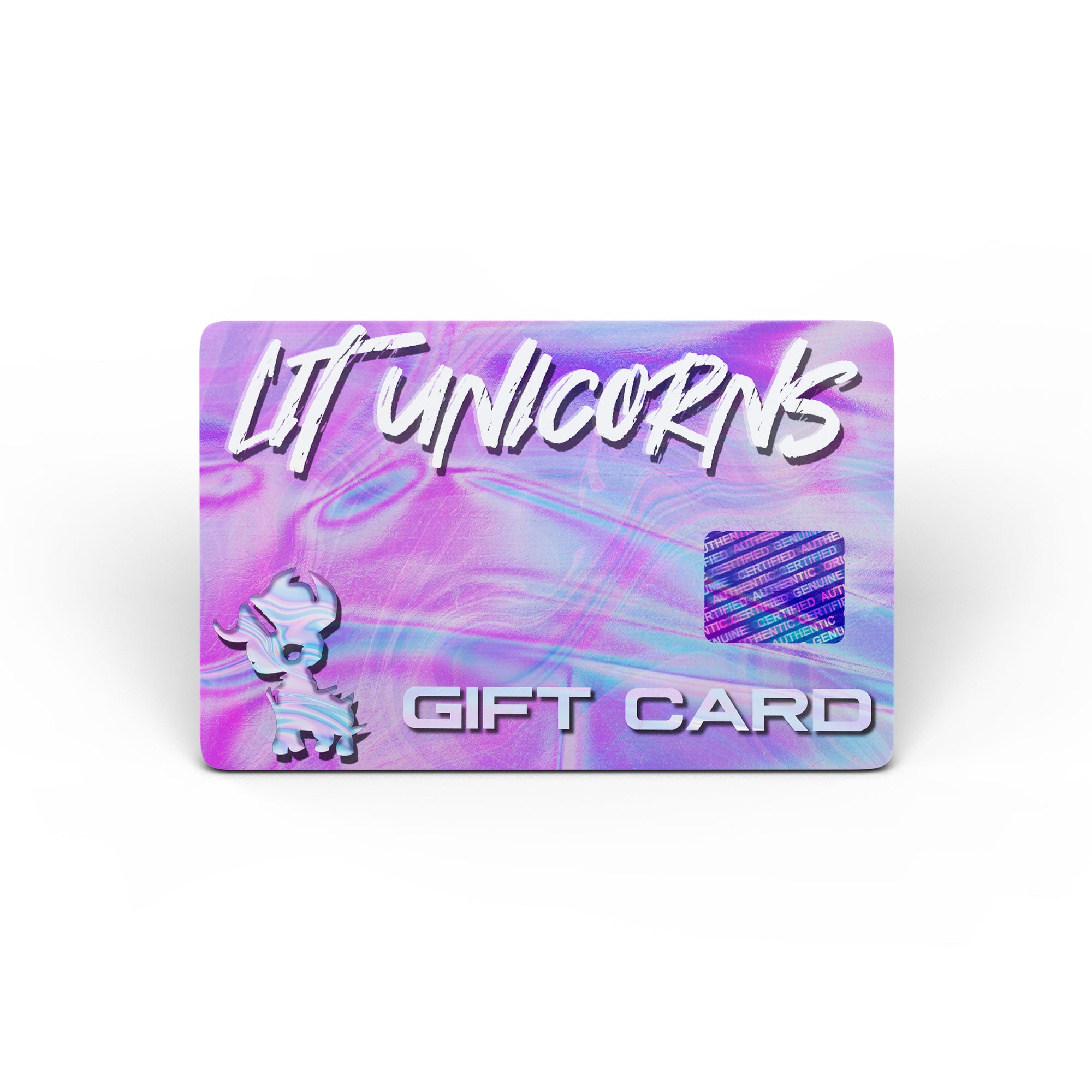 LIT UNICORNS - Gift Card - GIFT CARDS