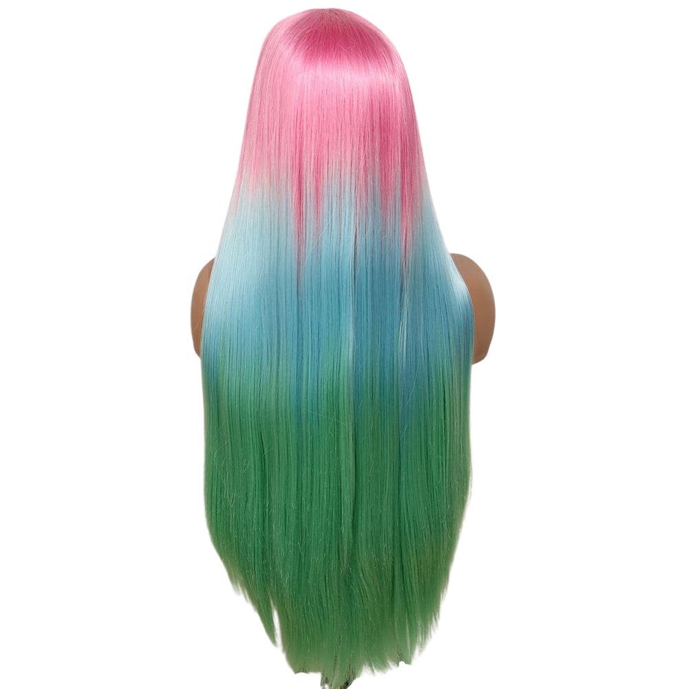 LIT UNICORNS - Discounted Wig - WATERMELON SUGAR HI