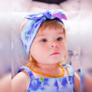 Tie Dye Blues Headwrap