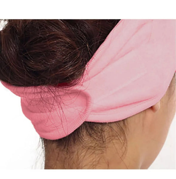 Pink Head Band Hair Wrap