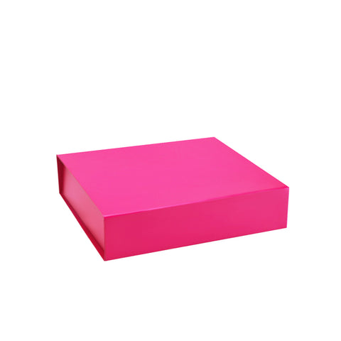 pink gift box magnetic closure bella skincare