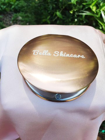 Bellaskincare Rose Gold Compact Mirror